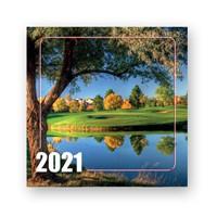 Календарь перекидной, настенный на скобе 2021