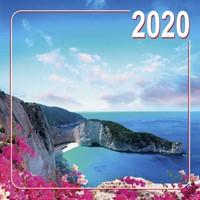 Календарь настенный на скобе 2020 природа (На скобе)