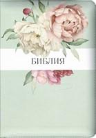 Библия на молнии, c индексами, кожзаменитель бирюзовый, 055 ZTI