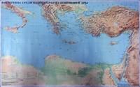 Библейская карта 'Восточное Средиземноморье в 1 веке н.э.'